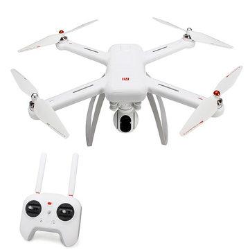 Xiaomi Mi Drone WIFI FPV Met 4K 30 fps & 1080P Camera 3-Axis Gimbal RC Quadcopter voor €334,32 @ Gearbest
