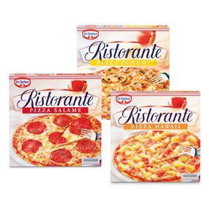 Dr. Oetker Ristorante pizza's 3 stuks voor 4,99 bij SPAR.