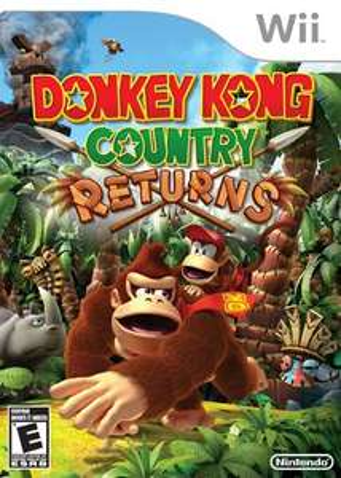 Donkey Kong Country Returns (Wii) voor Wii U voor €9,99 @ Nintendo eStore