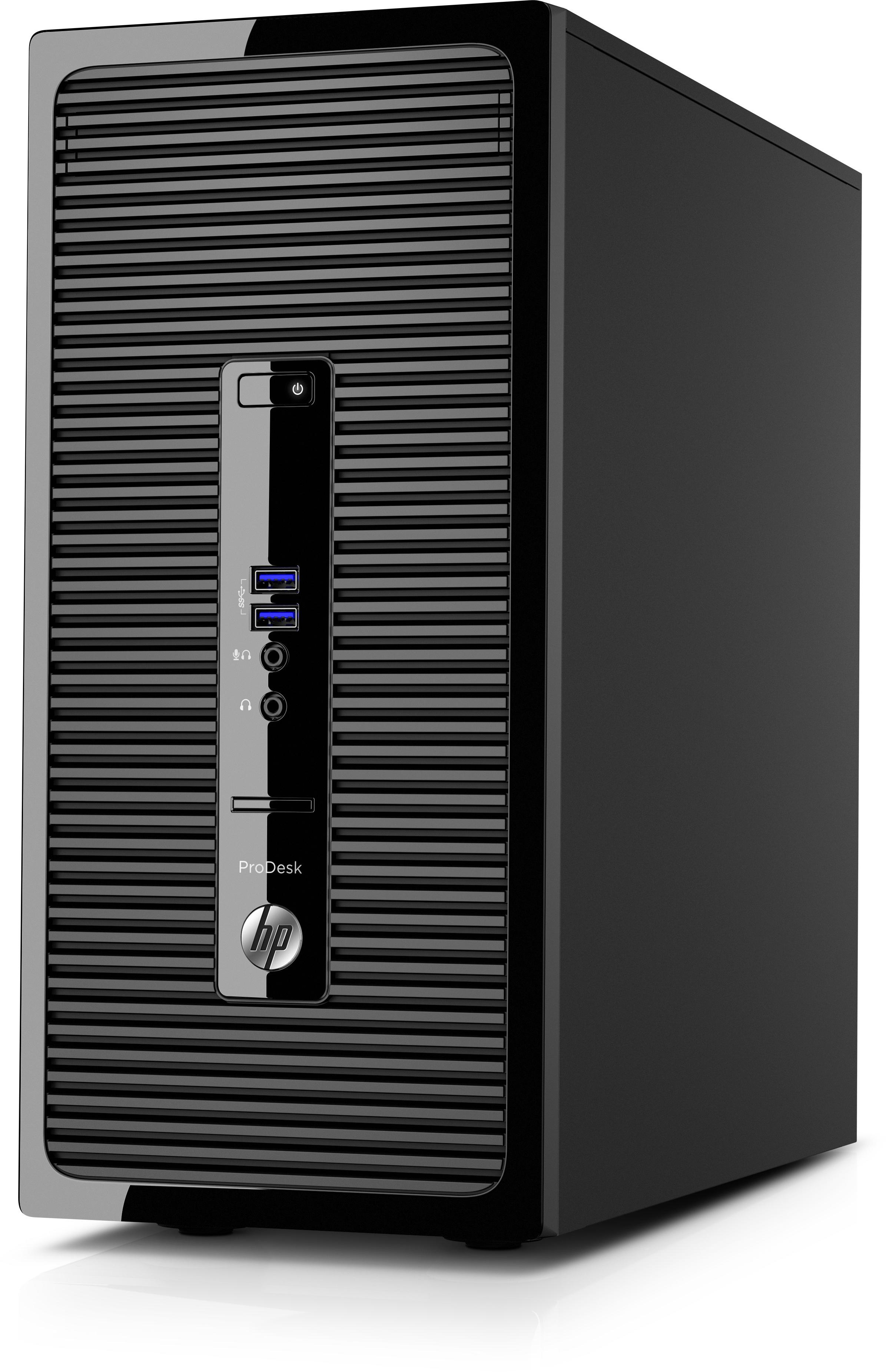 HP ProDesk 400 G3 MT Y5Q62EA voor €416,37 (nu zelfs €347,18) @ Megekko