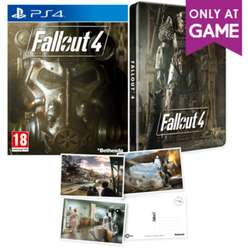 Fallout 4 met Steelbook en Postcards (PS4/Xbox One) voor €8,80 @ GAME