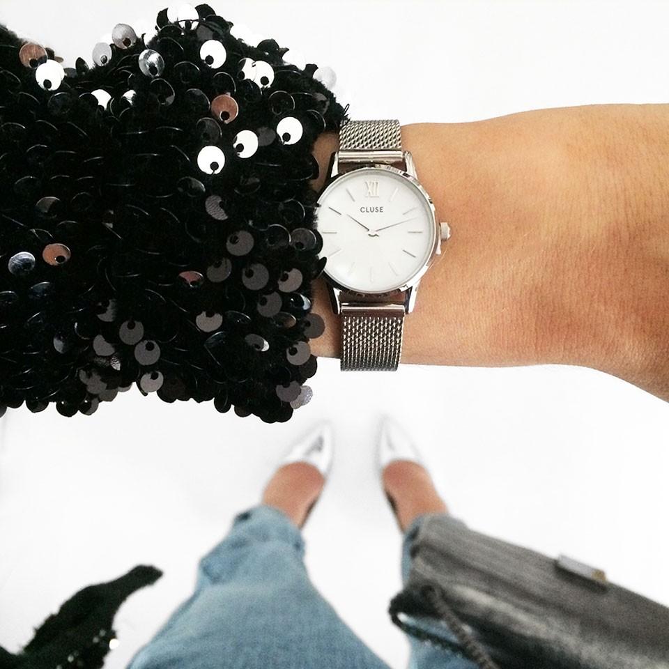 Cluse 'La Vedette silver' horloge €29,99 (ex verzending) @ Modemusthaves