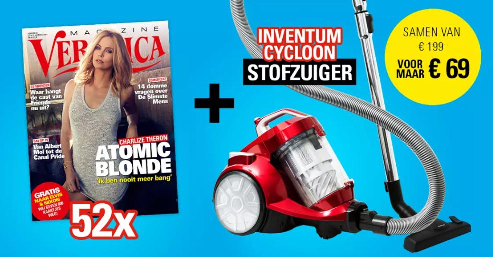 52x Veronica Magazine + Inventum Cycloon stofzuiger
