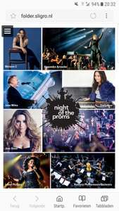 90 flessen slasaus gratis bij 2 kaarten Night of the Proms (20/21 nov) + kleine korting