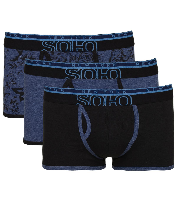 3 pack boxershort Soho € 5