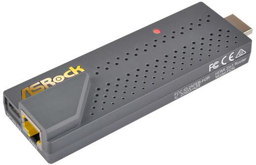 ASRock H2R (HDMI 2-in-1 Router) voor €10,36 @ Azerty