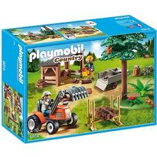 Playmobil 6814 Lumber Yard with Tractor voor €18,94 @ Alternate