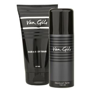 Van gils Hair & Body Wash 150ML + gratis Deodorant 150ml voor €10,15 @ Douglas