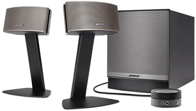 Bose Companion 50 2.1 speakerset voor €284,50 @ Amazon.es