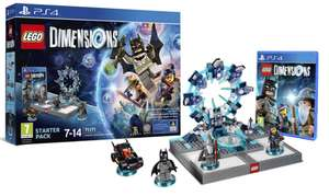 Startersets Lego Dimensions €25 / 2 Level Pakketten €7.50 ps / 6 Fun Pakketen €3.75 ps @ Lego Shop