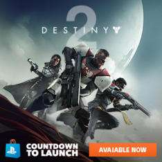 Gratis Destiny 2 dynamic theme en avatars PS4 @ US PlayStation Live