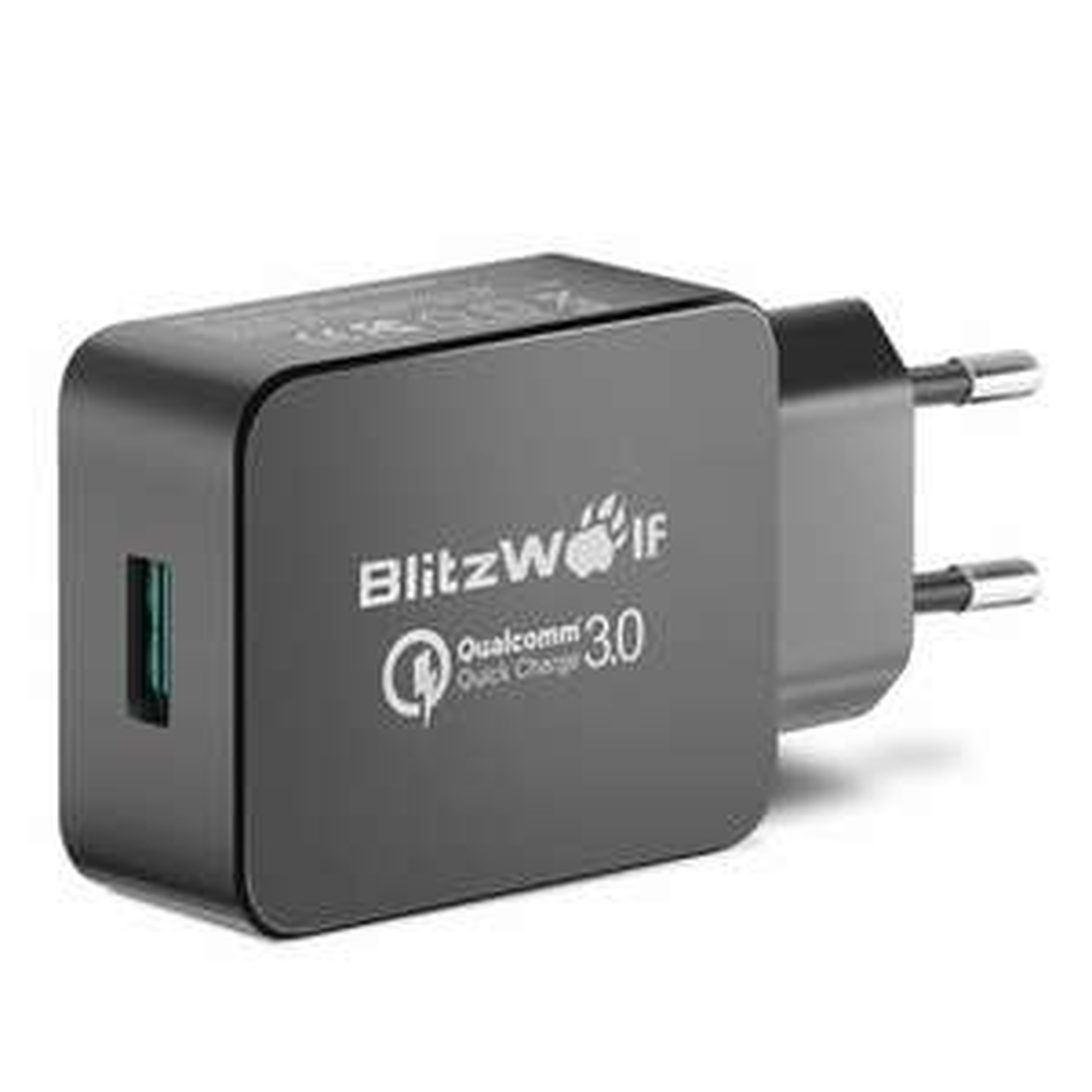 BlitzWolf® BW-S5 QC3.0 18W USB Charger EU AdapterBanggood