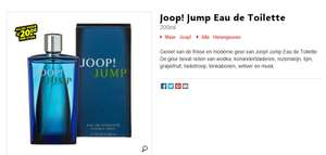 Joop! Jump for Men 200 ml eau de toilette voor €23,99@ kruidvat