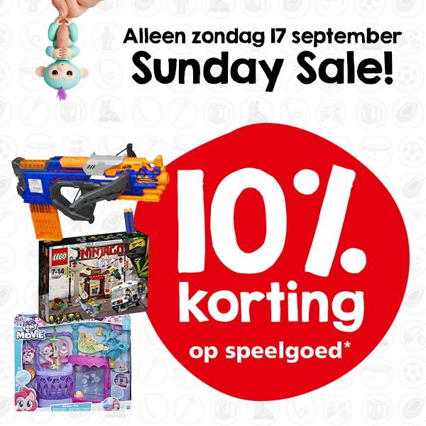 Intertoys 10% korting (zondag 17 september)