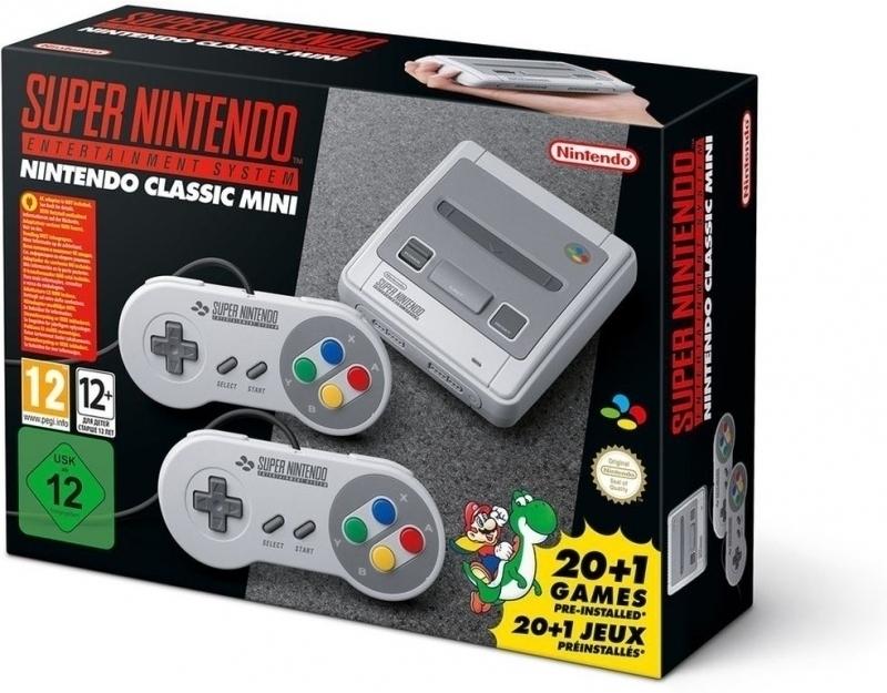 Nintendo Classic Mini: SNES (levering 2) voor €99 @ Nedgame/Coolblue