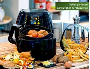 Philips Viva Airfryer XL HD9240 + gratis bakplaat voor €150,77 @ Amazon.de