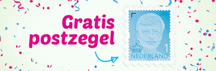 Met code gratis postzegel @ Kaartje2Go