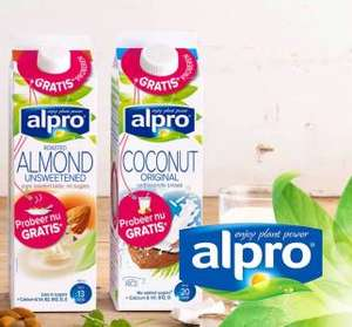 Gratis Alpro 1L (div. varianten) @ Scoupy.nl