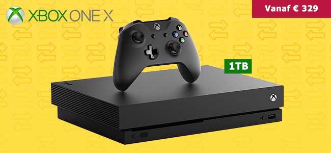 Inruilactie: Xbox One X vanaf €329 bij inlevering van je oude PS4 of Xbox One console @ Gamemania