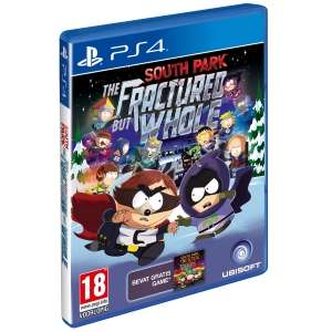 South Park: The Fractured But Whole PS4 en ONE voor €39 + 1.900 Rentepunten @ ING