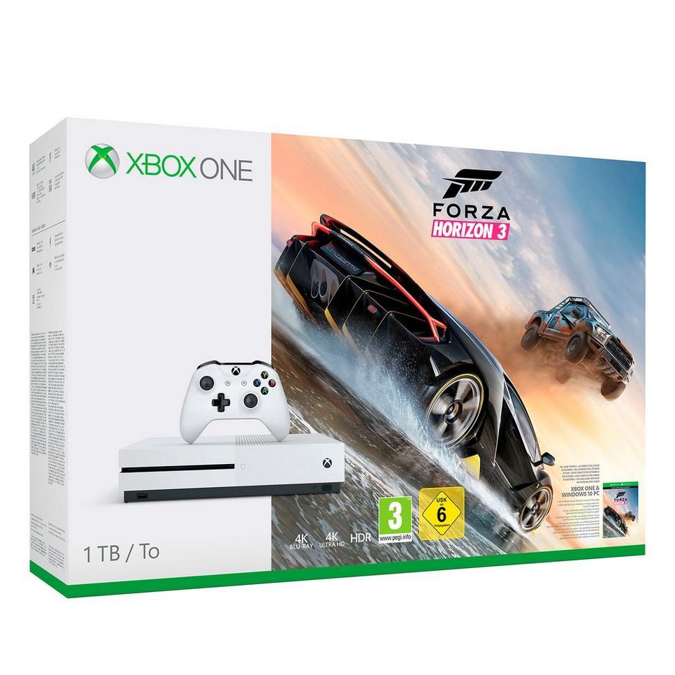 Xbox One S 1TB met Forza Horizon 3 en gratis FIFA 18 @ Wehkamp