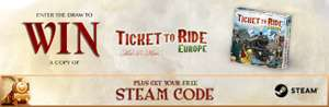 Gratis ticket to ride op steam @ Tickettoridewithmax