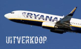 Ryan Air enkele reizen vanaf €14,70