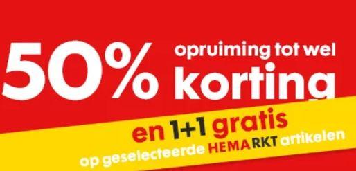HEMArkt & 1+1 gratis @ HEMA