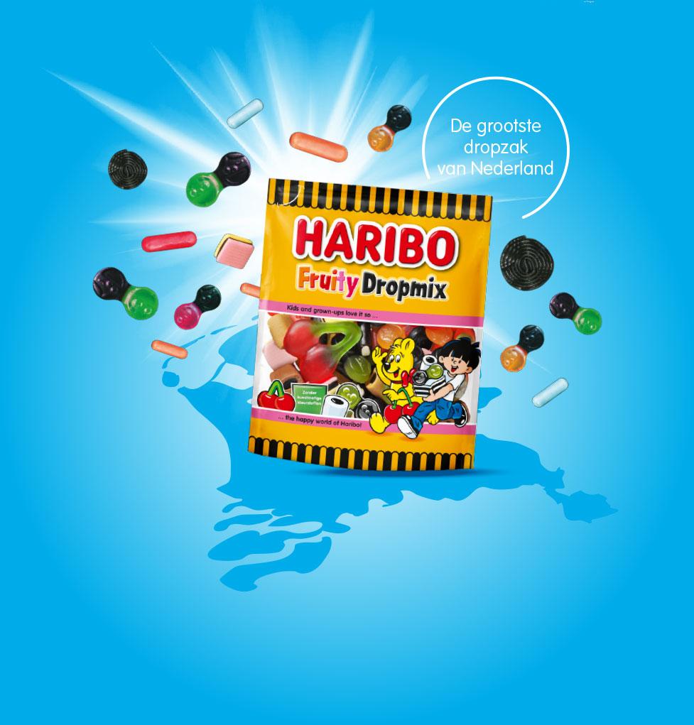 Gratis Haribo zakje op=op (alleen vandaag 25-9)