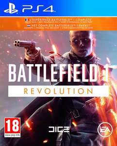 PS4 Battlefield 1 Revolution (+ Alle DLC) € 34,99, XBO € 29,99, PC € 19,99.
