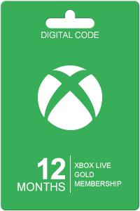 Xbox Live Gold 12 maanden @ Livekaarten