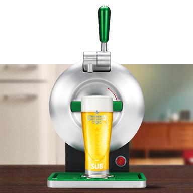 Krups The Sub Heineken Biertap voor €109
