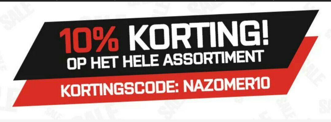 10% korting bij xxl nutrition