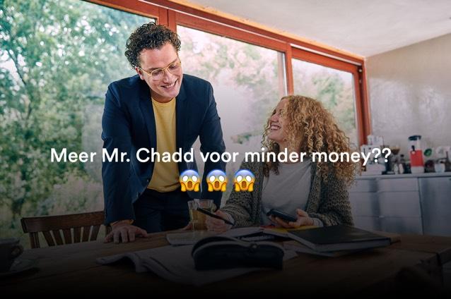 Onbeperkt Mr. Chadd, Slechts €14,95 @ Mr. Chadd