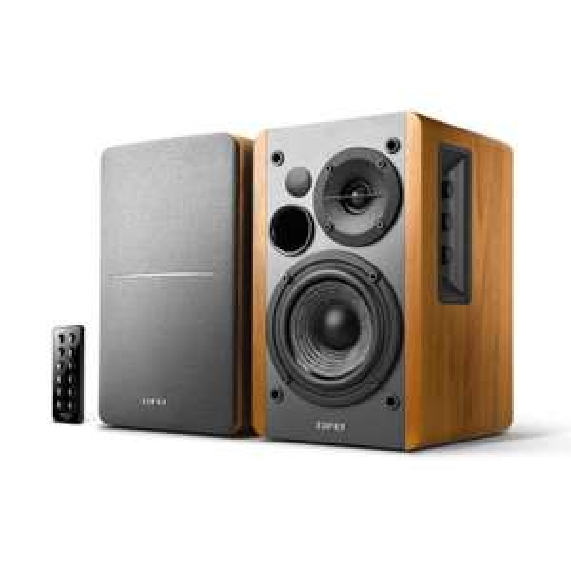 Edifier R1280DB Wood 2.0 set (bedraad met AB) @ Expert