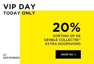 VIP-Day: 20% korting op totale collectie @ Jack & Jones