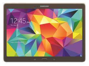 "Samsung Galaxy Tab S 10.5"" T800 WiFi (brons of wit) voor €354,45 @ BCC"