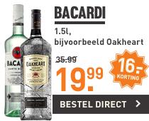 Bacardi Oakheart @ G&G