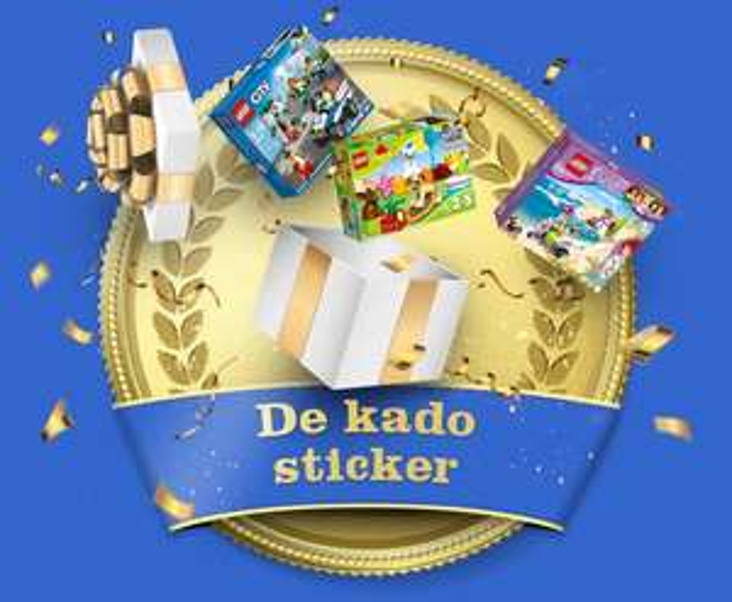 bol.com 10 euro lego kortingsbon (bij verzamelen stickers op speel.bol.com)