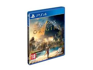 Pre order: Assassin's Creed Origins PS4/ONE voor €40 + 2000 rentepunten @ ING