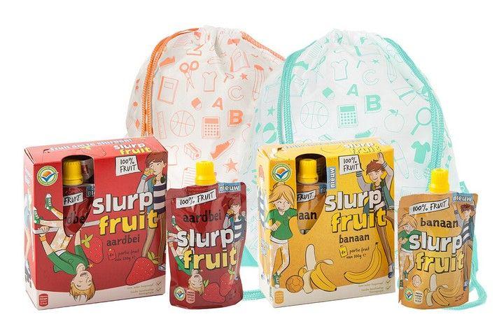 4-pack Slurpfruit voor maar € 1!
