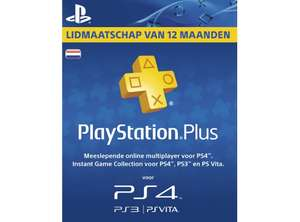 PlayStation Plus Voucher 365 Dagen voor €41,31 @ Media Markt