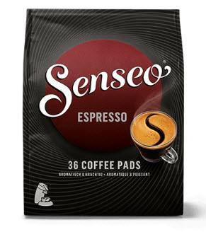 Probeer nu SENSEO® Espresso koffiepads met € 2,00 cashback @ via Scoupy