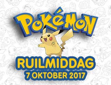 Zaterdag 7 oktober om 14:00 Pokémon ruildag (10% korting + gratis goodies) @ Gamemania winkels