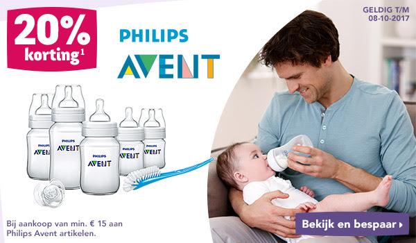 20% korting op Philips AVENT vanaf €15 @ Toysurus