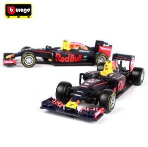 F1 Red Bull Racing RB12 No.33 Max Verstappen 1:43 voor €5,85 @ AliExpress