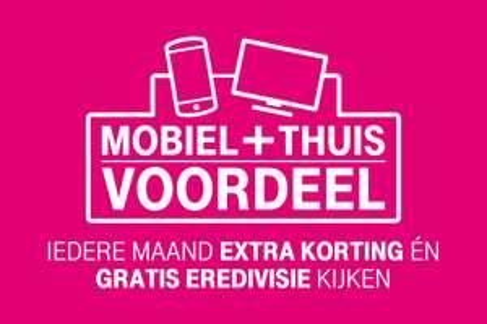 Vanaf 5 oktober: Mobiel + Thuis Voordeel @ T-Mobile