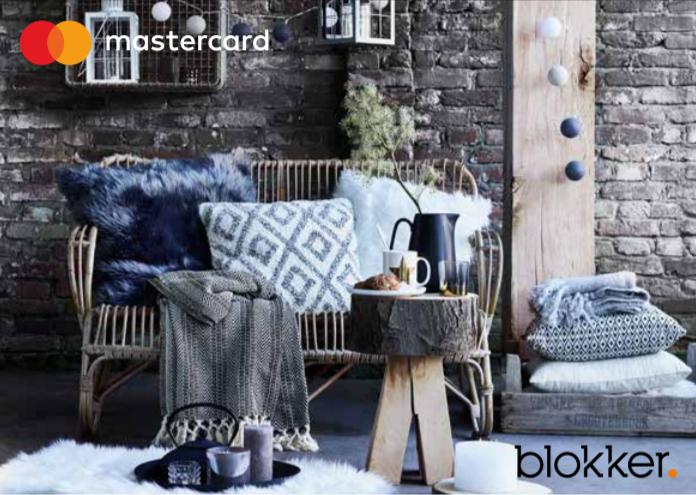 15% korting in de Blokker winkels / 10% op Blokker.nl met Mastercard