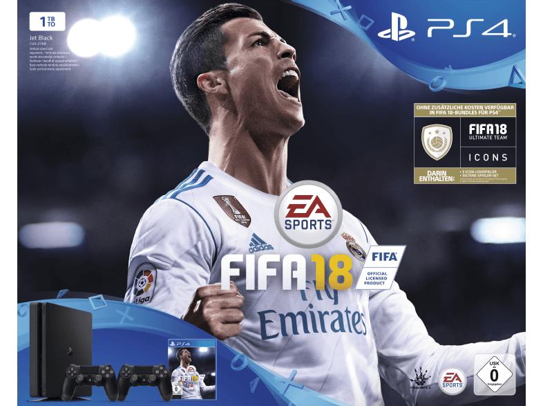 Mediamarkt Duitsland: PS4 + FIFA 18 + 2x Dualshock