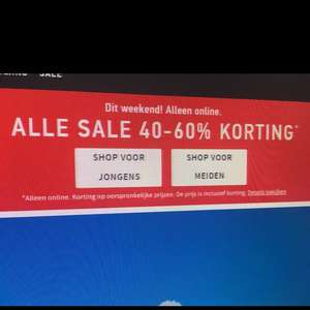Tot 60% korting op hollister kleding in de sale